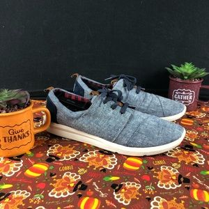 Toms Del are Chambray Ankle High Womans -10